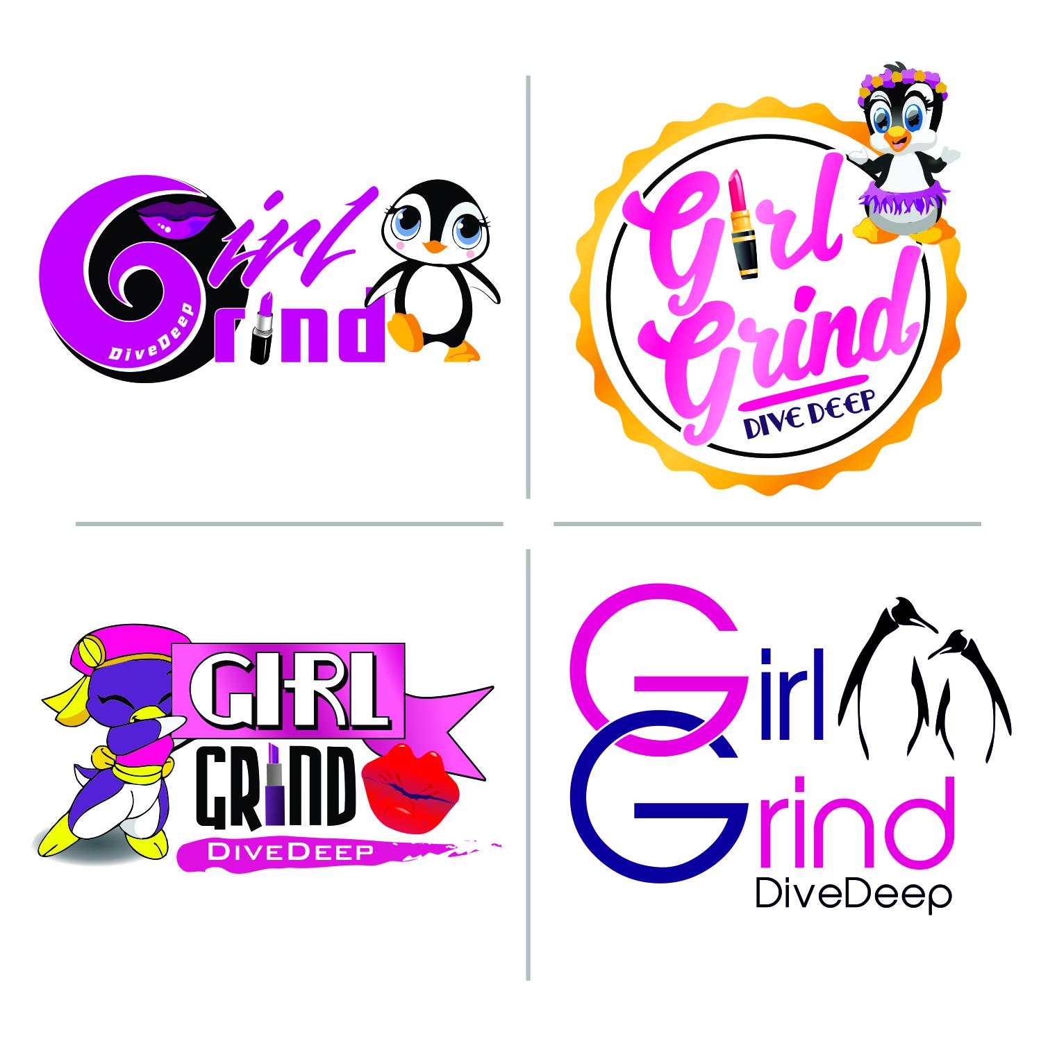 GIRL GRIND logos