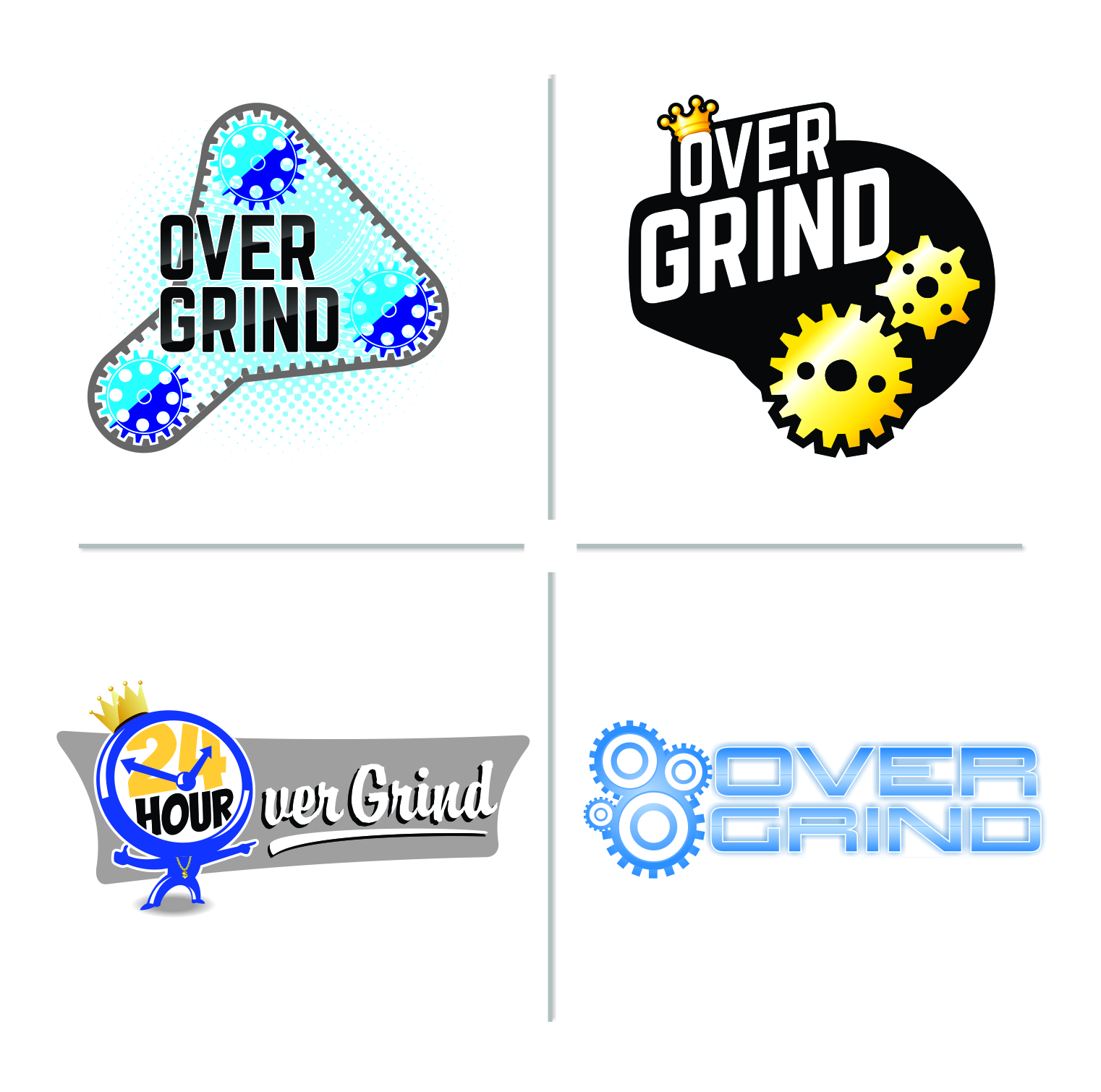 OVERGRIND logos