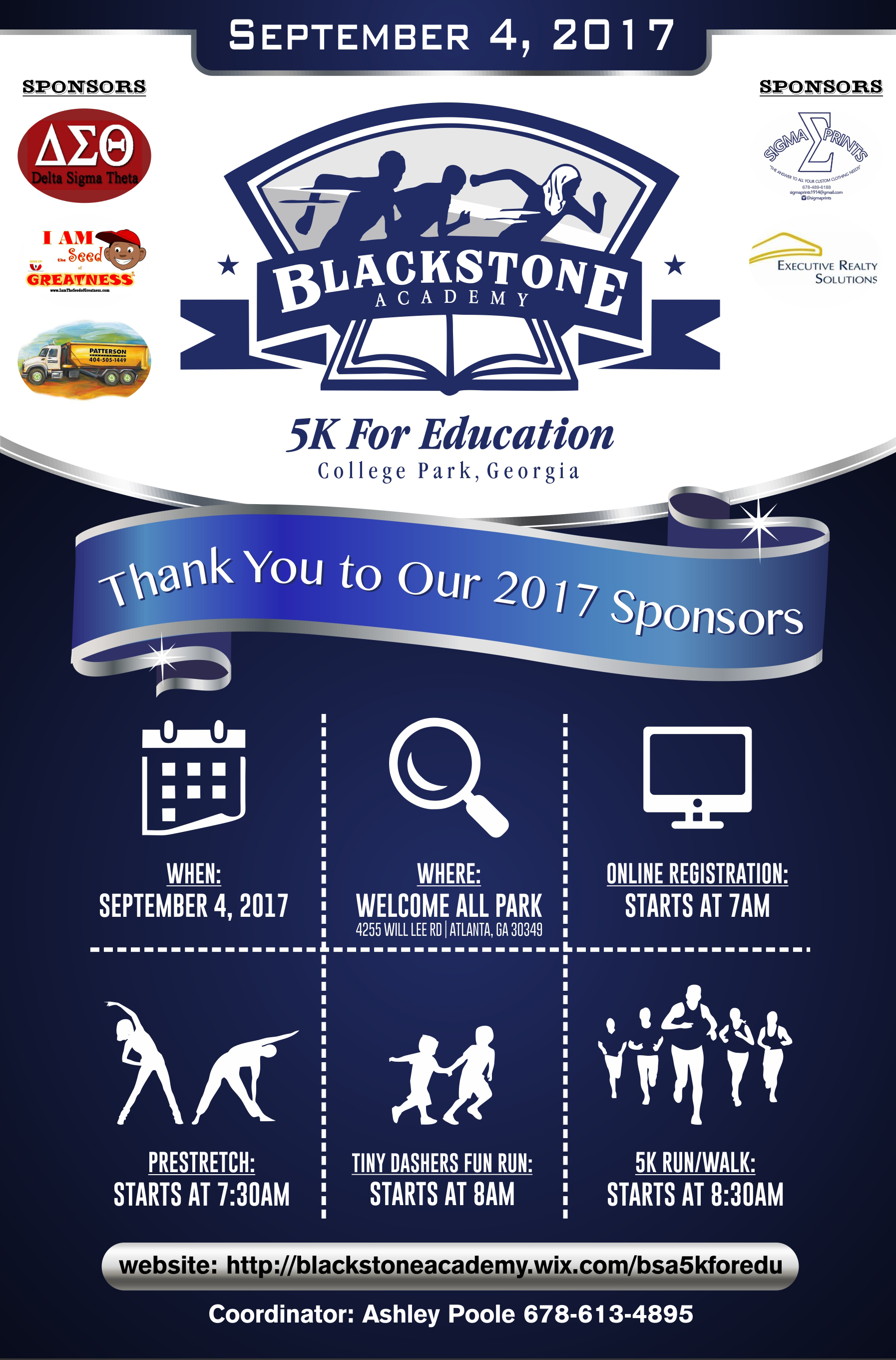 blackstone flyer design