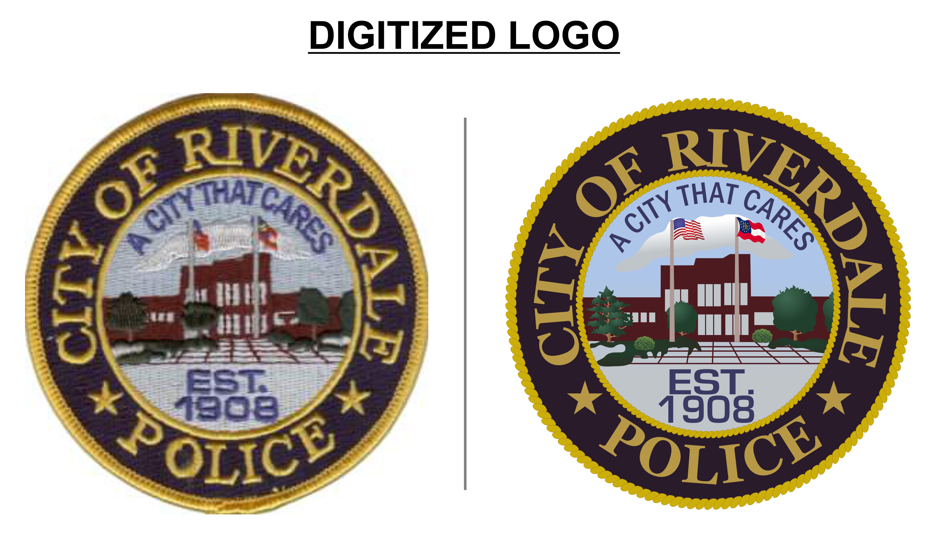 city of riverdale police logo