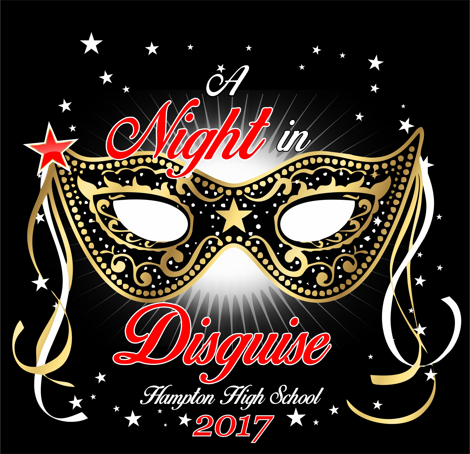 a night in disguise t-shirt design