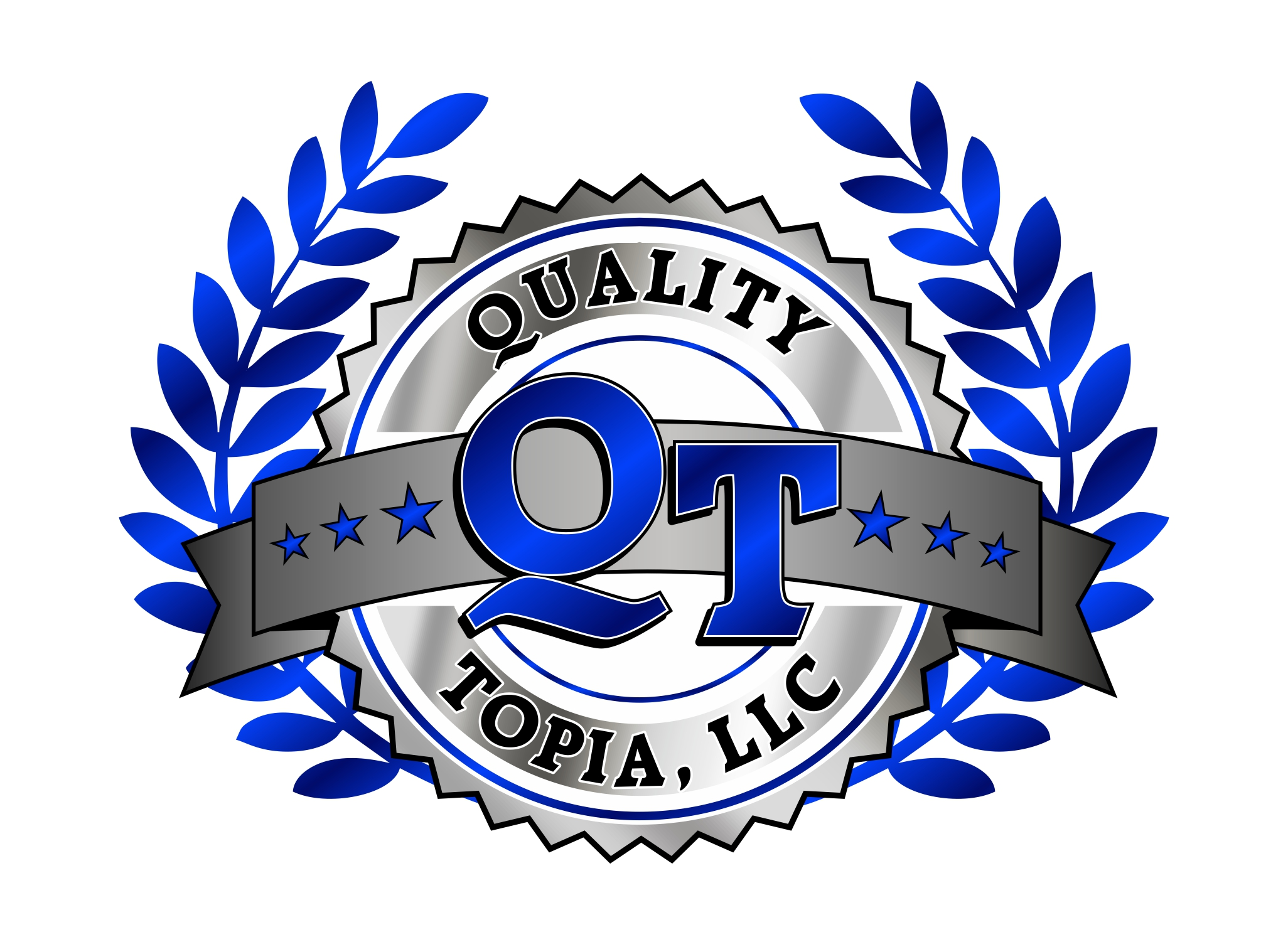 quality topia llc logo design