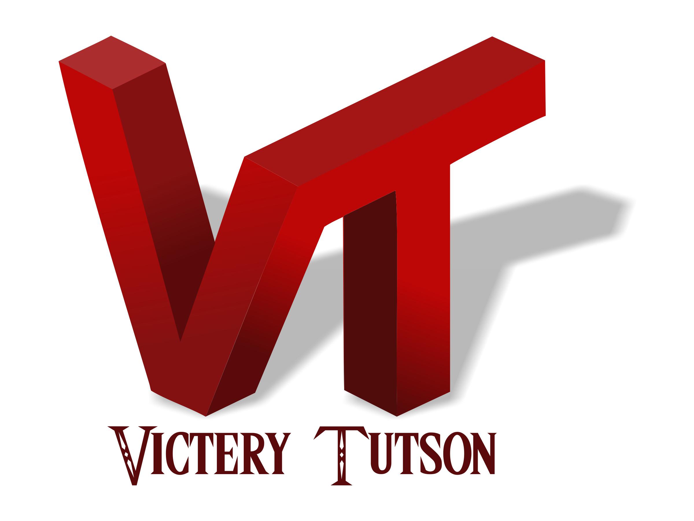 victery tutson logo design